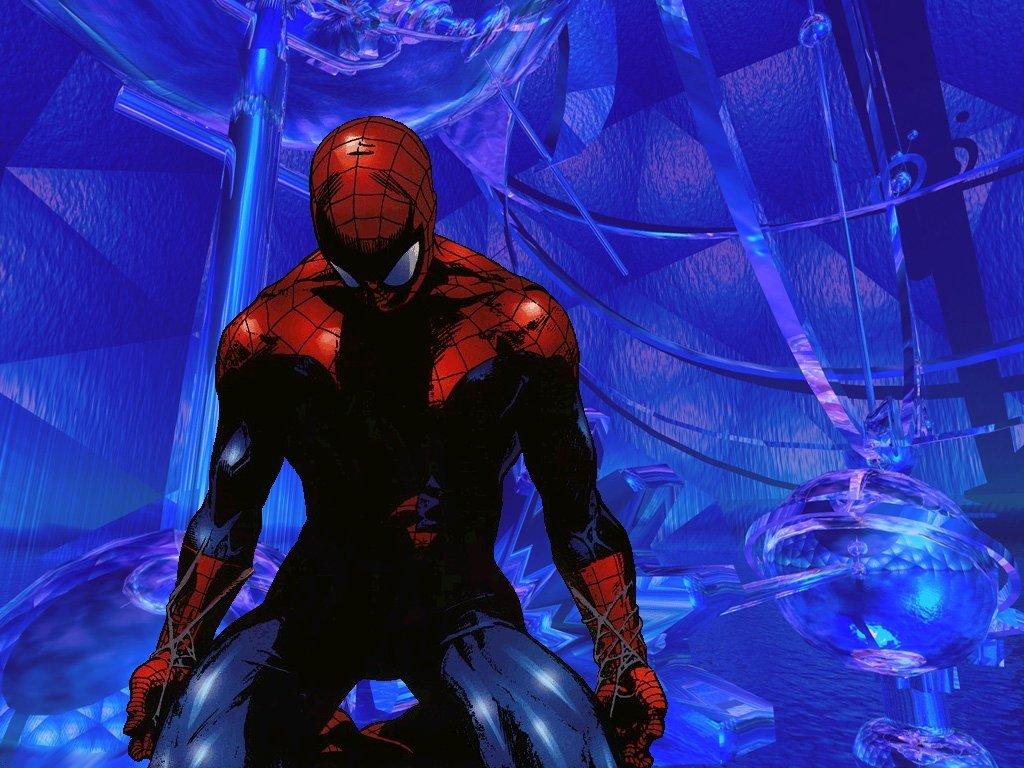 inicio fondos dibujos spiderman